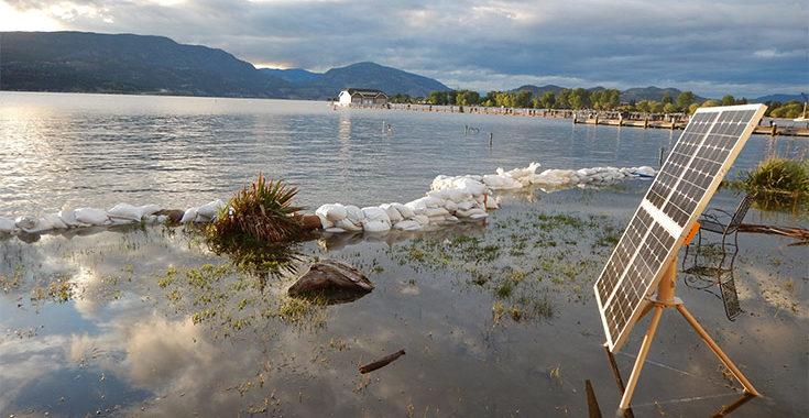 solar flooding waterproof