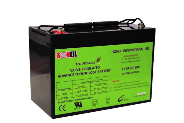 12V 100Ah G27H SiO2 Battery
