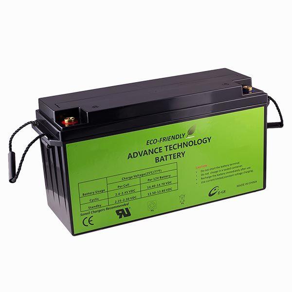 270ah 12v sio2 EFSN battery