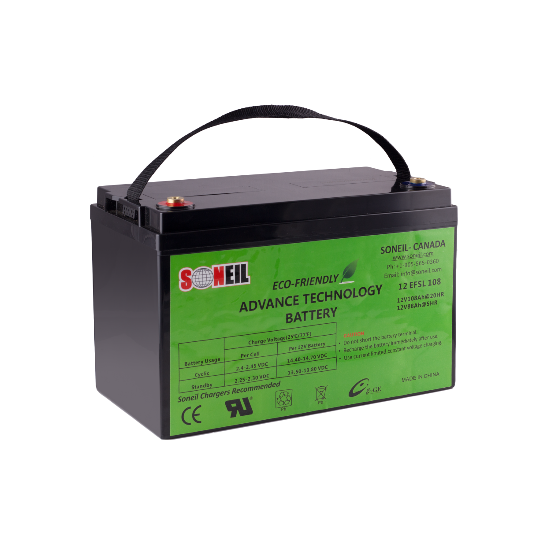 12v 108ah Ultra Long Life Battery 30h