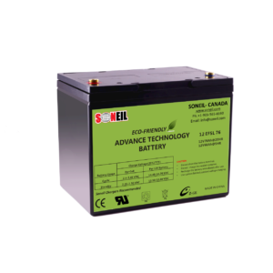 12V 76Ah SiO2 Battery