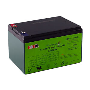 12V 7.2Ah F2 Replacement Battery for Parasystems//Minuteman AT650