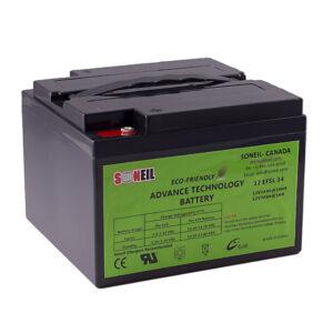 12V EFSL 34Ah Battery