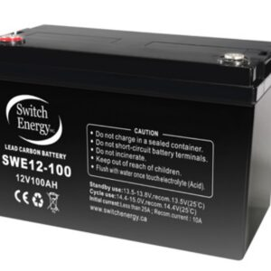Lead Carbon & Firefly Carbon Foam Batteries