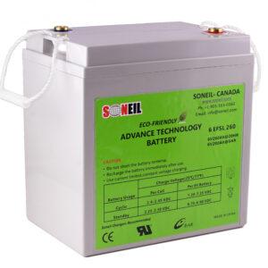 6V 325Ah SiO2 Battery