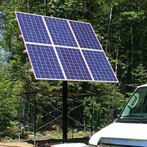 Solar Panel Pole Mounts